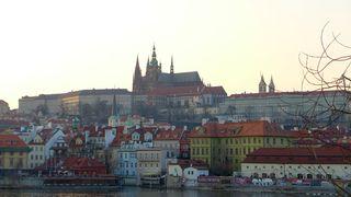 Blick auf den Hradschin - Prag, Burg, Hradschin