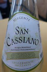 Mineralwasser - Mineralwasser, italienisch, Etikett, acqua minrale