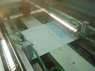 Zeitungsdruckerei #8 - Zeitungsdruckerei, Zeitungsdruck, Druckplatten, Texte, Bilder, Grafiken, Anzeigen, Farbe, cyan, magenta, gelb, schwarz