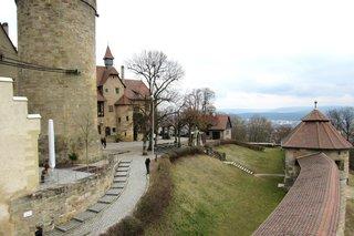 Bamberg, Altenburg - Bamberg, Burg, Höhenburg, Baudenkmal