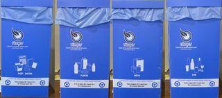 4 Abfallbehälter - Müll, Mülltonne, Mülltrennung, Umwelt, Tonne, Abfalltonne, Abfall, Abfallbehälter, Entsorgung
