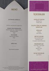 Speisekarte #1 - türkisch - Speisekarte, Menue, Menü, Auswahl, Übersicht, Produkte, Speisen, Preise, Gastronomie, Verzeichnis