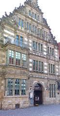 Hameln, Rattenfängerhaus     - Giebel, Renaissance, Rattenfängerhaus, Rattenfänger, Hameln