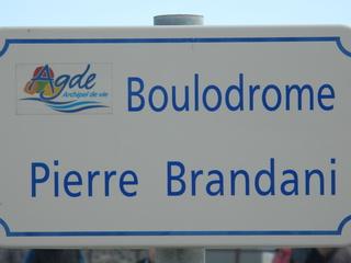 Boulodrome#1 - Frankreich, civilisation, boulodrome, boules, Sport, Kugel, Platz, Schild, panneau