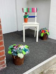 Urban Knitting #15 - stricken, häkeln, Kultur, Knitting, Graffiti, Kunst, Motiv, Impression, Motiv, warm, Wolle, Strickkunst, Objektkunst, Kunstobjekt, bunt, Verschönerung, Gemeinschaft