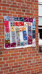 Urban Knitting #19 - stricken, häkeln, Kultur, Knitting, Graffiti, Kunst, Motiv, Impression, Motiv, warm, Wolle, Strickkunst, Objektkunst, Kunstobjekt, bunt, Verschönerung, Gemeinschaft