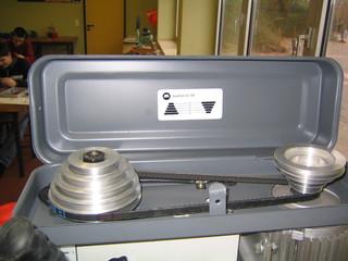 Riemengetriebe - Getriebe, Bohrmaschine, Technik, Sicherheit, Drehzahl, Wellrad, Riemenantrieb, Riemengetriebe, Treibriemen, Übersetzung