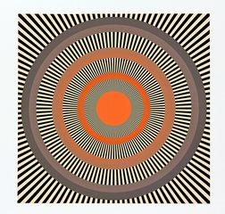 Optische Phänomene - Muster, Formen, Optik, optisch, bunt, Symmetrie, symmetrisch, Physik, Illusion, Täuschung, visuelle Wahrnehmung, Sehphänomene, sehen, geometrische Muster, Kreis, Kreise, Bewegung, bewegen