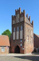 Wittenberge, Steintorturm #2 - Stadttor, Mittelalter, Backstein, Stadtmauer, Stadtbefestigung