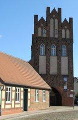 Wittenberge, Steintorturm #1 - Stadttor, Mittelalter, Backstein, Stadtmauer, Stadtbefestigung