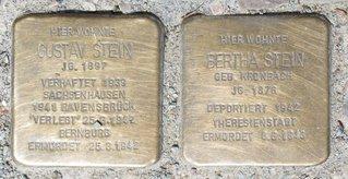 Stolpersteine in Havelberg, Steinstraße - Stolperstein, Gedenken, Nationalsozialismus, Verfolgung, Sühne