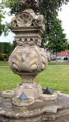 Wolfenbüttel - Sonnenuhr - Sonnenuhr, Penther, Gnomon, zwölf, Zeit, Zeitmesser, Uhr, Skulptur