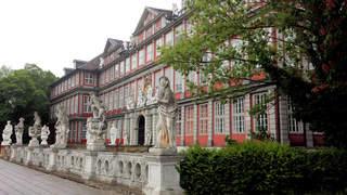 Wolfenbüttel - Schloss - Wolfenbüttel, Schloss, Gymnasium, Museum, Gebäude