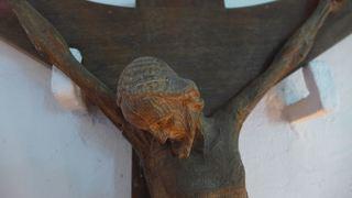 Christus am Kreuz #4 - Christus, Kreuz, INRI, Skulptur, Symbol, Kruzifix, Religion, Kreuzigung, Christentum, Jesus