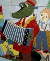 Krokodil Gena - Russland, Trickfilm, Kinderlied, russisch, Musik
