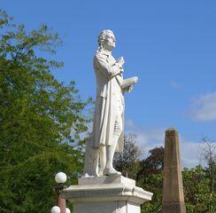 Schillerdenkmal #2 - Schiller, Klassik, Klassiker, Literatur, Literat, Dichter, deutsche Literatur, Statue, Standbild, Denkmal