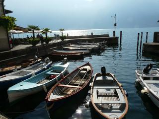 Fischerhafen am Gardasee - Hafen, Fischerhafen, Gardasee, Boote, Fischerboote
