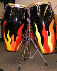 Congas - Congas, Conga, Latin Percussion, Schlaginstrumente, Trommel