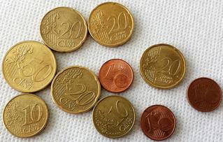 Euro 1,53 - Geld, Münzen, Münze, Scheine, Schein, Geldschein, Zahlen, bezahlen, Euro, Summe, Wechselgeld, wechseln, Währung, Daf