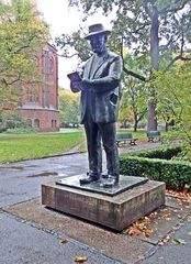 Heinrich-Zille-Denkmal  - Milieuzeichnungen, Milieu, Zeichnungen, Zille, Künstler, Berlin, Standbild, Kunst, Geschichte