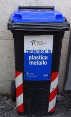 Mülltonne - Mülltonne, Italien, Plastik, raccolta differenziata, contenitori