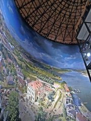 Asisi Panorama in Dresden - Panorama, Fotokunst, Dresden, Barock, Kunst, Geschichte, Künstler, Asisi, Ausstellung, Perspektiven, Ansichten, Blickwinkel, Gestaltung