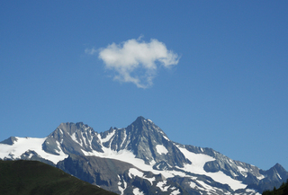 Großglockner - Alpen, Großglockner, Glockner, Schnee, alpin, Hohe Tauern, Kernzone, Außenzone, Berg, Berge, Panorama, Zentralalpen, Bergmassiv, Wandern, Wanderung, Bergsteiger, Gletscher