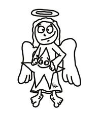 Engel 2 - Engel, Himmel, Bote, Gott, Jesus, Geburt, Engelszungen, Sendbote, Botschafter, Verkünder, Verkündung, Verkündigung, Weihnachten, Bethlehem, Gabriel, Erzengel, Himmelsbote, Schutzengel, Bibel, Engelschor, Abgesandter, angel, Seraphim, Cherubim