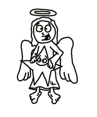 Engel 3 - Engel, Himmel, Bote, Gott, Jesus, Geburt, Engelszungen, Sendbote, Botschafter, Verkünder, Verkündung, Verkündigung, Weihnachten, Bethlehem, Gabriel, Erzengel, Himmelsbote, Schutzengel, Bibel, Engelschor, Abgesandter, angel, Seraphim, Cherubim