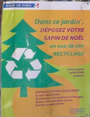 Sapin - Weihnachtsbaum - sapin, noel, recyclage