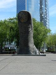 le pouce - Paris, le pouce, der Daumen, Skulptur, César, César Baldaccini, La Défense