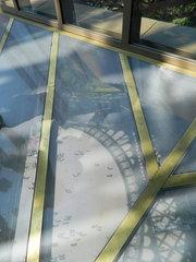 Tour Eiffel premier étage - Paris, Tour Eiffel, Eiffelturm, Glasboden, Durchblick