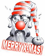 Weihnachtsmann - Merry X-Mas - xmas, x-mas, christmas, merry, santa claus, Weihnachten, Weihnachtsmann