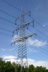 Strommast - Strommast, Energie, Strom, Leitung, Transport, Energiewende, Stromtrasse, Freileitungsmast, Konstruktion, Freileitung, Tragmast