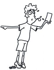 Fußballer 2 / Schiedsrichter - Fußball, Fußballer, Rasensport, Sport, Sportler, Bundesliga, Pokal, Mannschaft, Mannschaftssport, Auseinandersetzung, Pfiff, Unterbrechung, Hobby, Profi, Amateur, Spiel, Spielunterbrechung, Liga, Gespräch, Gesprächsanlass, Meinung, Fan, Zuschauer, Stadion, Fußballplatz, Sportplatz, gelbe Karte, rote Karte, Platzverweis, Pfeife, Schiri