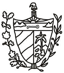 Kuba Wappen - Kuba, Wappen, coat of arms, Karibik, Cuba