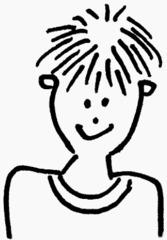 Junge 2 - Junge, Bub, Mensch, Kind, Kopf, Gesicht, Jugendlicher