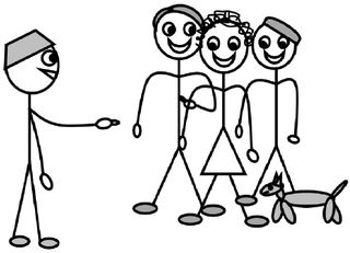 Personalpronomen #7 : ihr - Personalpronomen, ihr, Zeichnung, Clipart, DaF, Übung