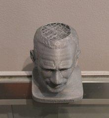 Druckerzeugnis aus einem 3D Drucker#5 - 3D Drucker, Druckerzeugnis, Kunstoff, Verstrebung, Kopf