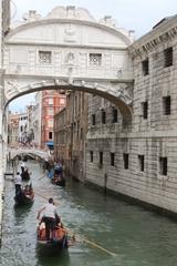 Seufzerbrücke - Brücke, Venedig, Urlaub, Kalkstein, Italien, Lagune