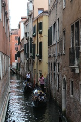 Venedig - Kanal, Lagune, Urlaub, Italien, Süden, Gondel