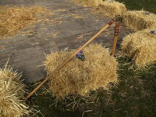 Dreschflegel #2 - Dreschflegel, Dreschschlegel, Bauer, Werkzeug, dreschen, Getreide, Getreidekörner, Handwerkzeug