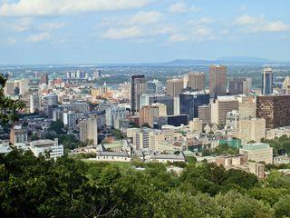 Montreal #6 - Montreal, Kanada, kanadisch, Canada, olympisch, Olympia, Olympiade, olympische Spiele, Sportstätte, Olympiapark, Olympiastadion, Stadion, Sport, Architektur, Amerika, Nordamerika, Le Plateau-Mont-Royal
