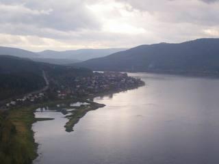 Jenissey - Sibirien - Jenissey, Sibirien, Krasnoyarsk, Russland, Fluss, Flüsse, Flusslandschaft, Wasserstraße