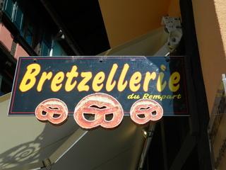 bretzellerie - Frankreich, Elsass, Alsace, Bretzel, magasin, manger, essen