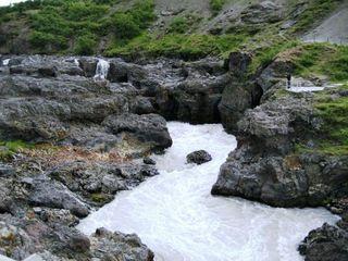 Island - Land zwischen Feuer und Eis - Island, Fluss, Wasserlauf Gestein