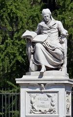 Wilhelm von Humboldt  - Skulptur, Humboldt, Gelehrter, Schriftsteller, Staatsmann, Philologe, Ästhet, Kultur, Geschichte, Bildung, Reformer