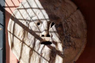 Bocca della Verita, Mund der Wahrheit - Relief, Rom, Kirche, Wahrheit