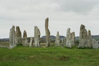 Callanish - Callanish, Steinkreis, Insel, Lewis, geheimnisvoll, stehende Steine, Standing Stones, Hebriden, Schottland
