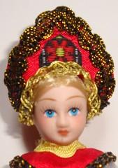 Russische Trachtenpuppe_Bildnis - Tracht, Puppe, russisch, Russland, Geschichte, Kostüm